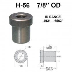 Carr Lane Head Press Fit Bushings 7/8 OD