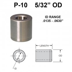 Carr Lane Press Fit Bushings 5/32 OD