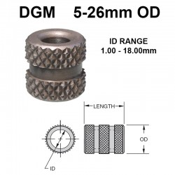 Carr Lane Diamond Grove Metric Bushings