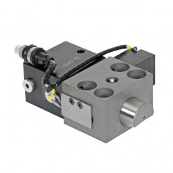 Wedge Clamps for Tapered Clamping Edge with Locking Bolt without and with Position Monitoring at the side - HILMA WZ2.2405