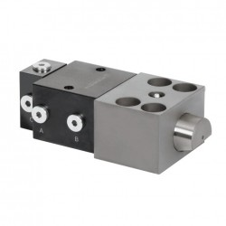 Wedge Clamps for Tapered Clamping Edge with Sequence Valve control for High Temperature Ranges - HILMA WZ2.2407