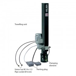 Hilma Rapid clamping system - automatic travelling clamp