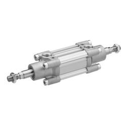 Profile cylinder ISO 15552 PRA Series Piston Rod Through