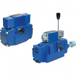 Directional Spool Valve, Pilot Operated with Mechanical-hydraulic Actuation WMMH