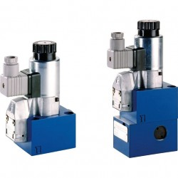 Bosch Rexroth On/off Directional Seat Valves with Solenoid Actuation Type M-.SEW 10