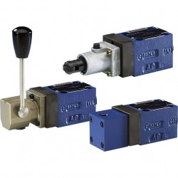 Bosch Rexroth On / off directional seat valves with mechanical, manual or fluidic actuation M-.SM., M-.SH, M-.SP