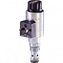 Bosch Rexroth On / off directional seat valves with solenoid actuation KSDE.1 N/P