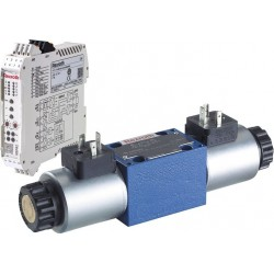 Bosch Rexroth 4/2 and 4/3 Direct Operated Proportional Directional Valves without Electrical Position Feedback, without/with Int