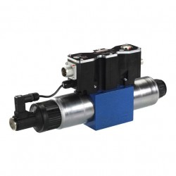 4 / 3 proportional directional valve with integrated digital electronics and field bus interface (IFB-P) 4WREF