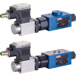 Bosch Rexroth Proportional Pressure Reducing Valve, Pilot-operated DRE 6, DREE 6