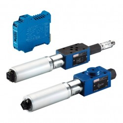Bosch Rexroth Proportional Pressure Reducing Valve, Pilot-operated with DC Motor Actuation ZDRS