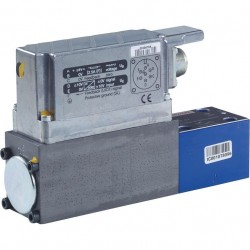 Direct operated Proportional pressure relief valves with integrated electronics (OBE) and position feedback DBETBEX