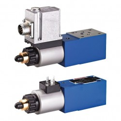 Proportional Pressure Relief Valve, Pilot-operated, with Integrated Electronics (OBE) and Position Feedback DBEBE6X