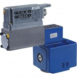 Pilot operated proportional pressure relief valves with integrated electronics (OBE) and position feedback DBEBE10Z