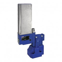 Bosch Rexroth Proportional Pressure Relief Valve, Pilot-operated, with Direct Current Motor Operation DBG