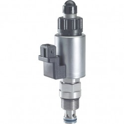 Bosch Rexroth Proportional Pressure Relief Valve, Pilot-operated, Decreasing Characteristic Curve KBVS.1B