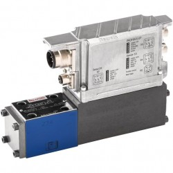 High-response Directional Valve with Integrated Digital Axis Controller (IAC-R) and Field Bus Interface 4WRPNH../2