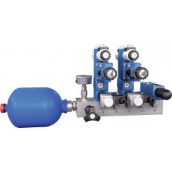 Manifolds with Installation Bore for a Pressure Relief Valve HSR 06M-40