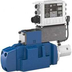 High-response Directional Valve, Pilot Operated, with Integrated Digital Axis Controller (IAC Multi Ethernet) 4WRLD -4X