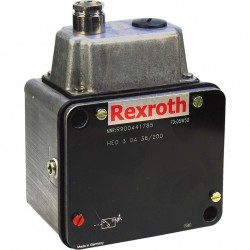 Bosch Rexroth Bourdon Tube Pressure Switch with Continuously Adjustable Switching Pressure Differential HED 3 -4X